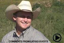 Videos / Video testimonies about how amazing Latigo Ranch is.
