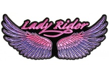 Lady Rider patches