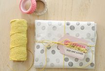 Gift wrapping / by Bec Benson