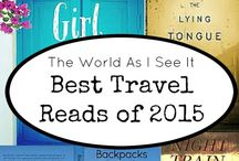 Travel / World of traveling in the book covers