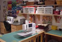 Sewing Room / ideas for a sewing room