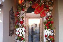 Puerta de navidad