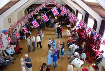 Ashover Parish Hall / Venue for all kind of fabulous functions: wedding, parties, theatre groups, children's parties, exercise classes, conferences, seminars... www.ashoverparishhall.co.uk