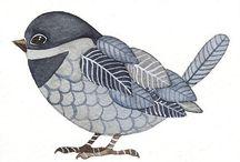 oiseaux dessins 1