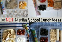 school lunch / by Kelly Crowder