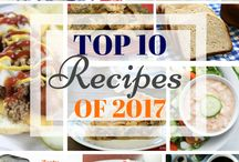 Top 10 of 2017 / Food Bloggers Top 10 Reader Favorite Recipes of 2017