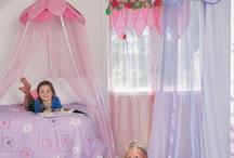girls fantasy bedrooms / fairy bedrooms