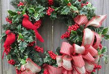 Christmas/Winter Wreaths / by The Little Corner