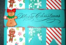 Christmas Crafty Cards / Handmade Christmas greeting cards