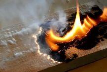 lichtenberg in hout branden