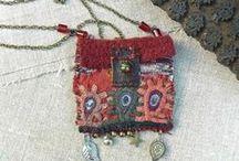 pendant pouch necklace
