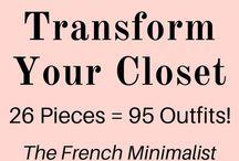 French minimalist wardrobe