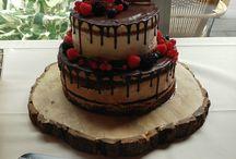 taarten / zelf gemaakte taarten