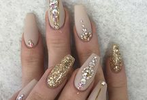 Bling'd nails / Nail art ideas