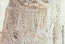 Шали, палантины, шарфы