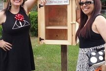 Neverending Little Free Library / Take a Book, Return a Book. Little Free Libraries are popping up all over. These important community projects will help keep books accessable to everyone. Visit www.LittleFreeLibrary.org for more info.  / by DJ Johnson