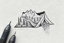 tiny drawings