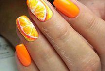 Ногти фруктики