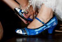 Geek wedding shoes / Wedding footwear (seriously )