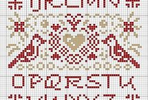 Cross Stitch Patterns/Samplers / by Gettysburg Homestead /Mary