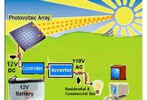 Solar Generator - Powered by 240-Watt Solar Panel