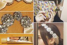 ウェディングアクセサリーDIY* Wedding DIY