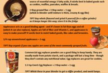 Food hacks and info