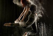 Powder dance project / Esimerkkejä tanssikuviin