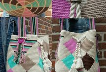 Bags - Tasker / Hæklede Tasker - Crochet bags
