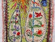 Sewing - Free Motion Machine Embroidery, Thread Painting