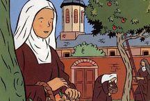 Sainte Thérèse de Lisieux / La vie de la petite Thérèse se trouve http://laviedesparoisses.over-blog.com/article-vie-de-sainte-therese-de-l-enfant-jesus-108177416.html