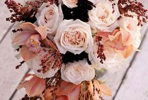 Autumn bridal bouquets