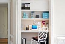 Bedroom workspace