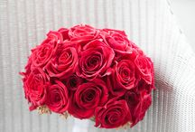 Bridal Bouquet - Red