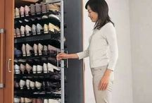 Shoe storage for small spaces