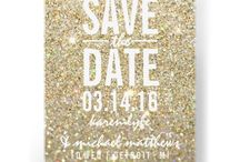 Wedding | Prints / Save the dates. Invites. RSVP. Thank Yous.  / by Risa Martin