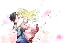Shigatsu wa kimi no uso/Your lie in april