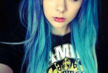 Scene cute hair :x