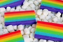 Fudge rainbow
