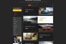 car webdesign