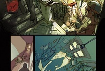 Comic Pages / Composition, lightning, scenery, coloring...