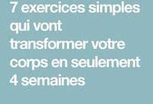 exercices fitness