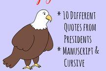 Presidents Day Ideas