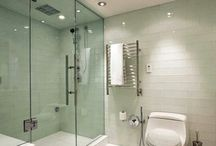 Enclosed Wetroom Area / Bathroom designs featuring an enclosed wetroom area. A practical and stylish space that is easy to clean and maintain.