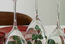 Noel Yemeği Masaları