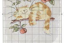 Cross Stitch-Animals