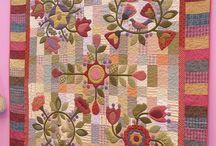 patchwork teksztilképek