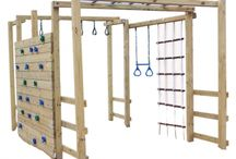 Jungle Gyms and Climbing Frames