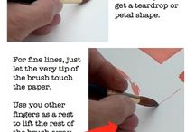 Watercolour Painting Tips / Pins from around the web and ArtTutor.com to help you improve your watercolour painting technique / by ArtTutor.com
