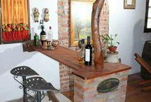 balcões cozinhas e áreas de churrasqueiras